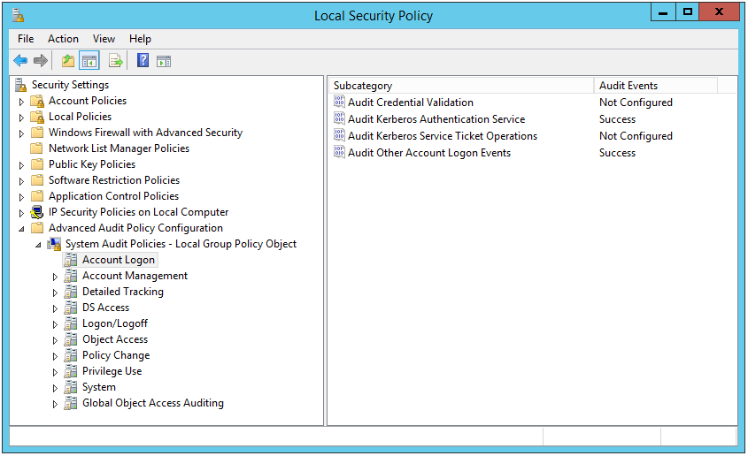 Active Directory Login Monitor - Server 2012 R2 and Windows 10